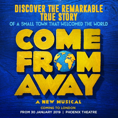Come From Away Show Cover