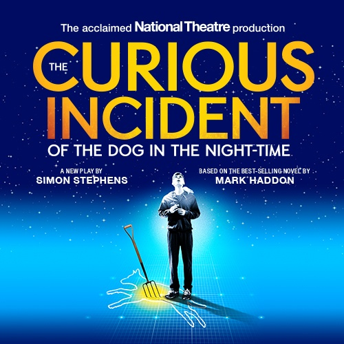 Curious Incident of the Dog in the Night Time Show Cover