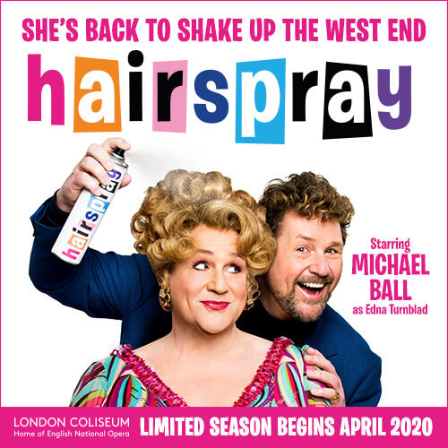 Hairspray Show Cover