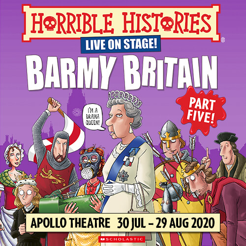 Horrible Histories Barmy Britain Part Five! Show Cover