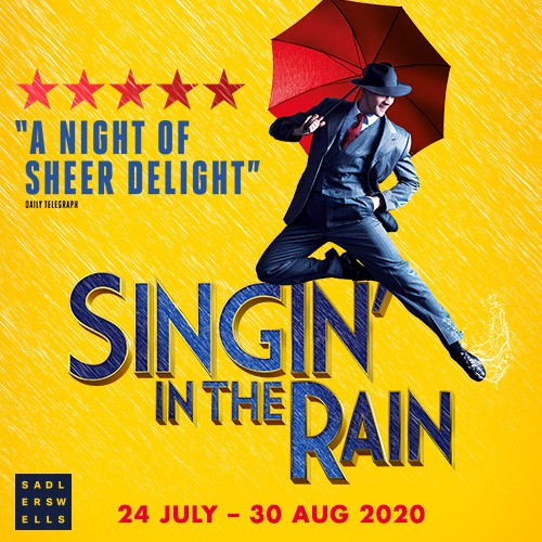 Singing In The Rain Show Cover