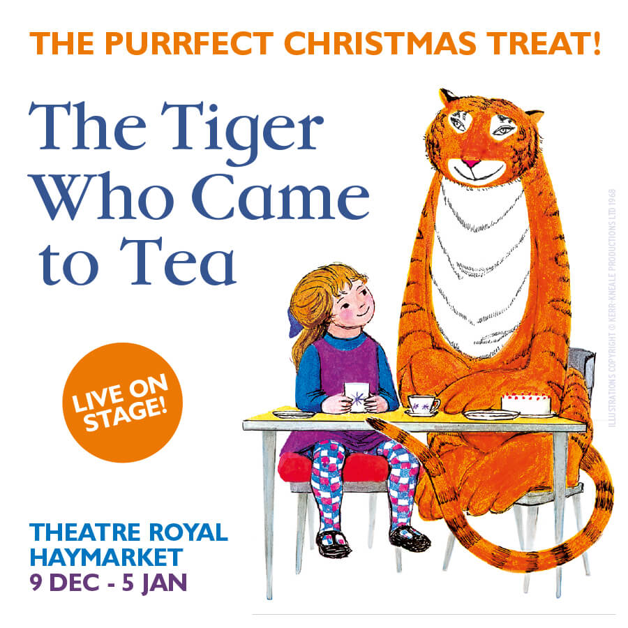 Tiger Who Came To Tea Show Cover